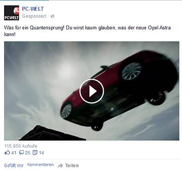 CASE: WOW factor generates Video Views for Opel Astra